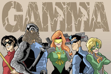 Thunder Force: Gamma by Gaston25