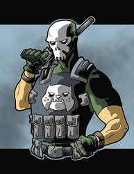 War Dog Fan Art by Gaston25