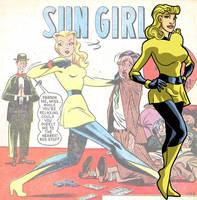 Sun Girl fan art by Gaston25