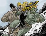 Shield Maiden Clash by Gaston25