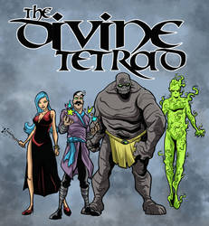 The Divine Tetrad by Gaston25