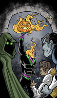 Outcasts Halloween 2018 by Gaston25