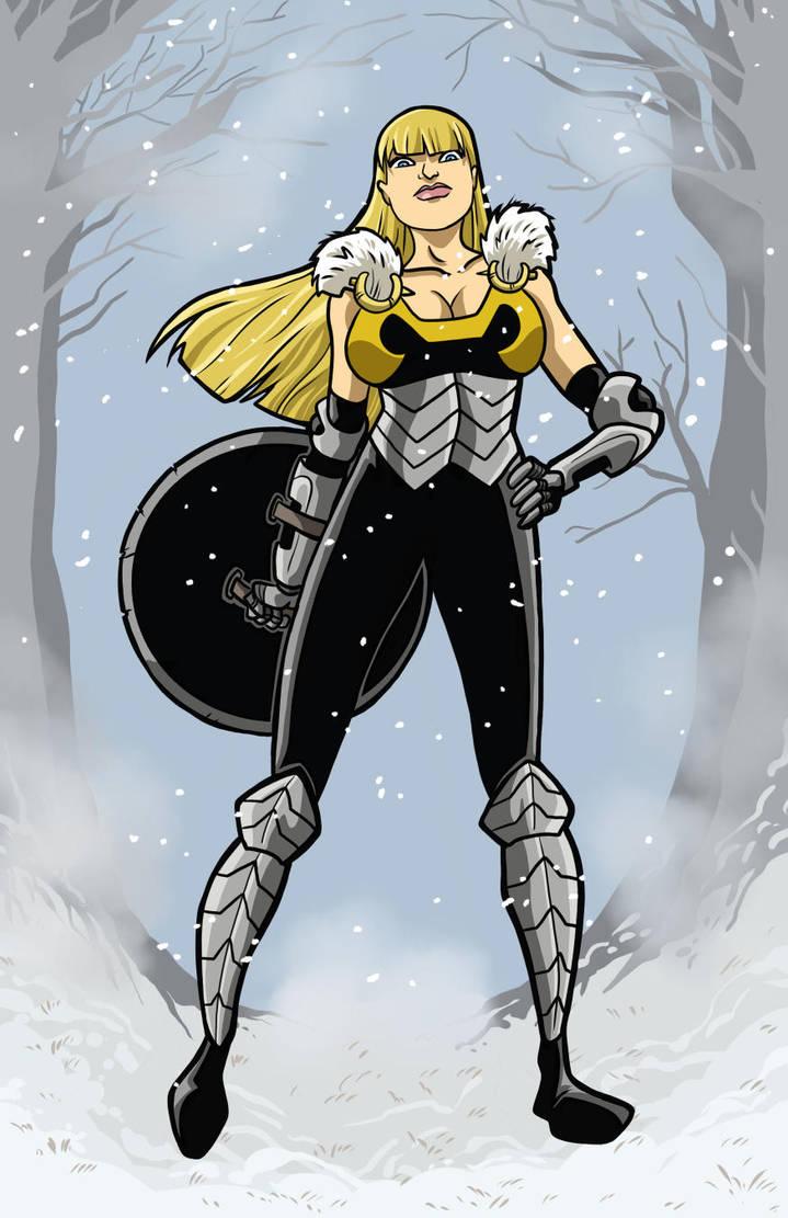 Shield Maiden standoff by Gaston25