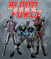 Blood Force by Gaston25