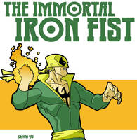 Iron Fist by Gaston25