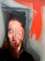 Self-portrait Head 2 2010 by JJURON