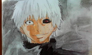 Kaneki ( Tokyo Ghoul ) by XxAl3xandra09