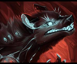 Cyber Werewolf by ALRadeck