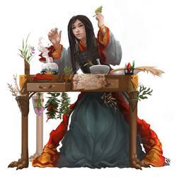 Pei Zin Herbalist by ALRadeck