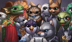 Creature Collection Selfie Mat! by ALRadeck