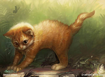 Magic the Gathering - Unstable: Adorable Kitten by ALRadeck