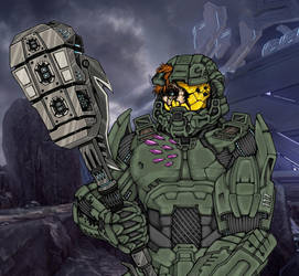 Master Chief by calebzweifler