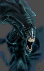 Alien Queen by ereptor