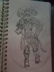 Warcraft Yrel Bubblehearth by GoldFishArmada