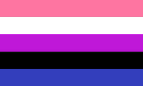 Genderfluid / Genderflexible (1) by Pride-Flags