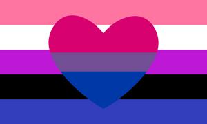 Genderfluid Bisexual Combo Flag by Pride-Flags