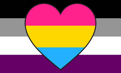 Asexual Panromantic Combo Flag by Pride-Flags