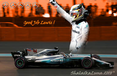 Good job Lewis ! by ShalaskaLuna