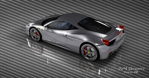 Ferrari 458 by TRANSC3DENT