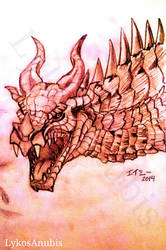 Skyrim Dragon! by LykosAnubis