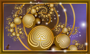 Christmas labyrinths by theaver