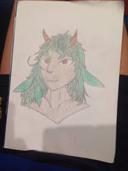 New dungeons and dragons character by Teayl