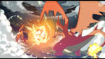 -_Mega Charizard_Vs_Greymon_- by YUMIXK0
