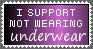 No Undies Stamp by HappyStamp