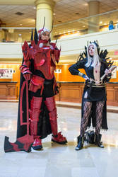 AnimeUSA 2014  Fire Emblem Aversa and Walhart by Yonaka-Photography