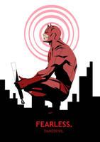 Daredevil- Fearless by Kazemb