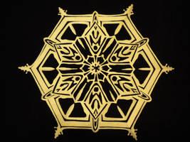 Real Snowflake by beep3rocks