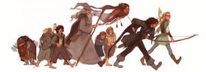 To Mordor by LeaCross