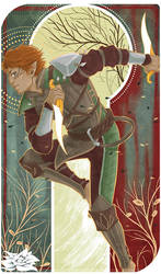 Dragon Age - Mahanon Levallan by Cah3thel