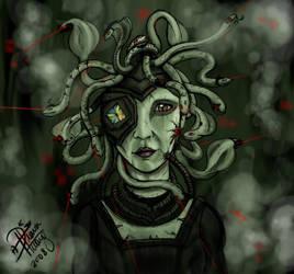 Medusa Borg by Diana-Huang