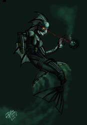 Borg Mermaid by Diana-Huang