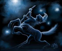 Guitar Centaur by Diana-Huang