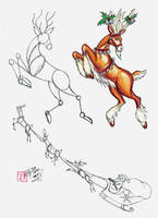 Draw a Deer 2 by Diana-Huang