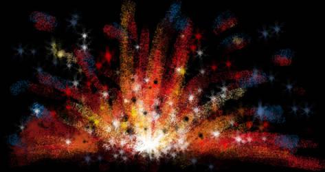 The Big Bang by Diana-Huang