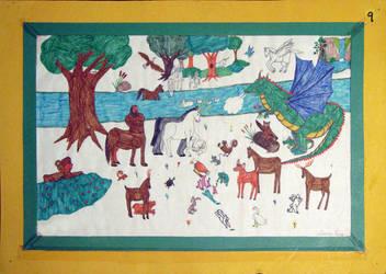Humble Beginnings - 5th Grade by Diana-Huang