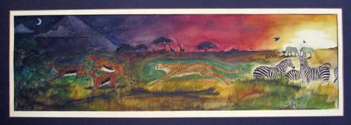 Serengeti - 1995 by Diana-Huang