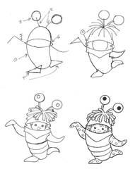 Draw Boo From Monsters Inc By Diana Huang On Deviantart