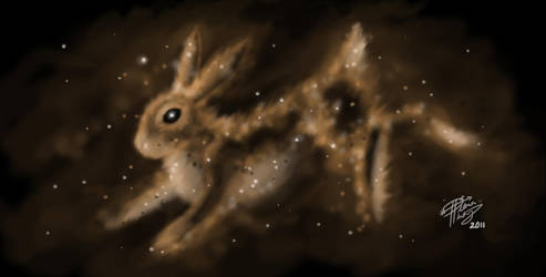 The Rabbit is Coming by Diana-Huang