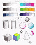 Shading Mixing Worksheet p2 by Diana-Huang