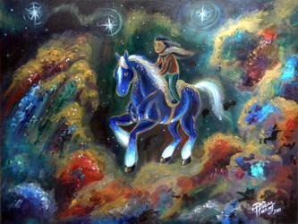 Cobalt Dream by Diana-Huang