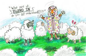 Sheep Dog by Diana-Huang