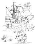 Draw a Sailing Ship by Diana-Huang