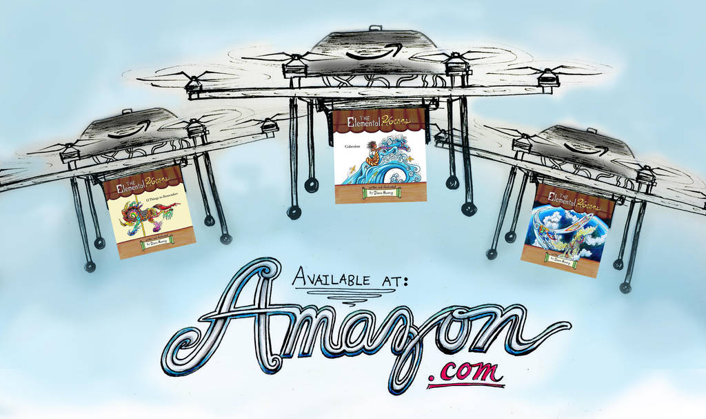 Original Amazon Drones Ad by Diana-Huang
