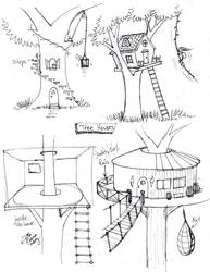 Draw Tree House by Diana-Huang