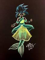 Chinese Mermaid  by Diana-Huang