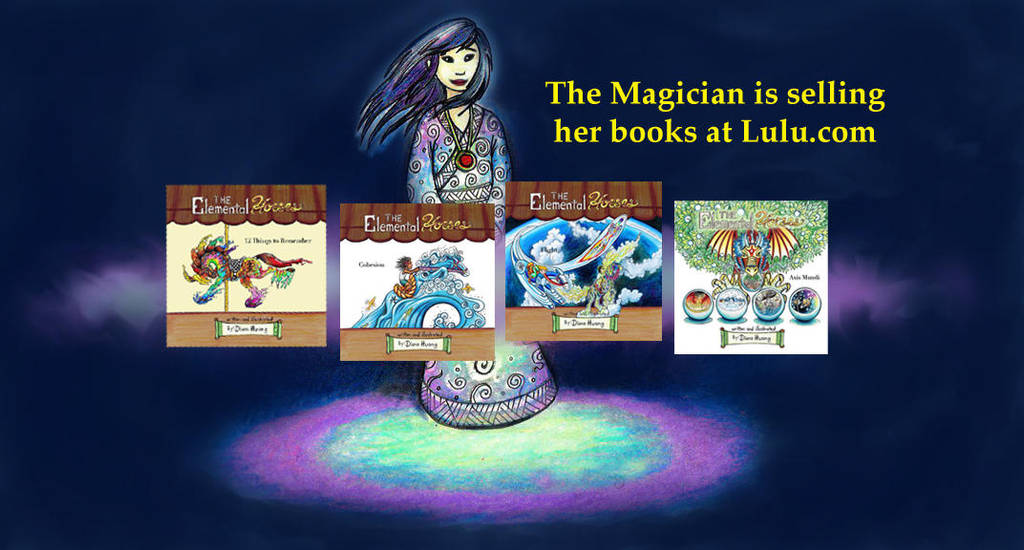 The Magician Book Ad by Diana-Huang